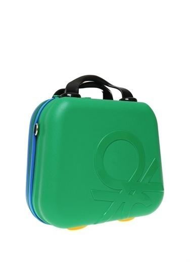 Benetton Makyaj Çantası Yeşil